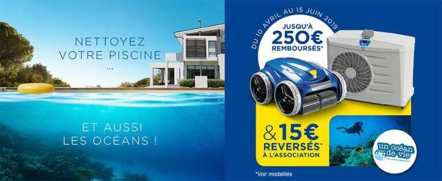 Avec Zodiac, nettoyez votre piscine... et les océans