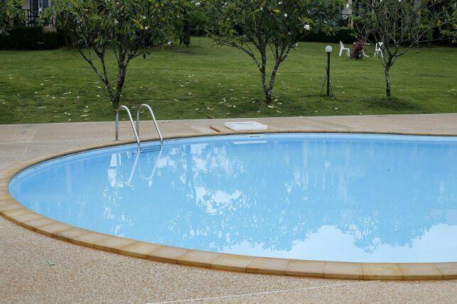 Bâche pour piscine ovale