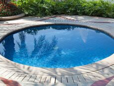 Bâche pour piscine ronde