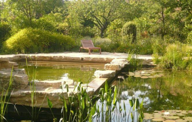 Baignade naturelle avec étang périphérique DR