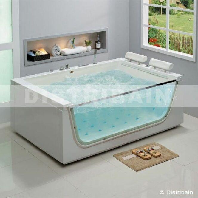 S lection de baignoires baln o installer chez soi baignoire baln o 2 plac - Baignoire spa 2 places ...