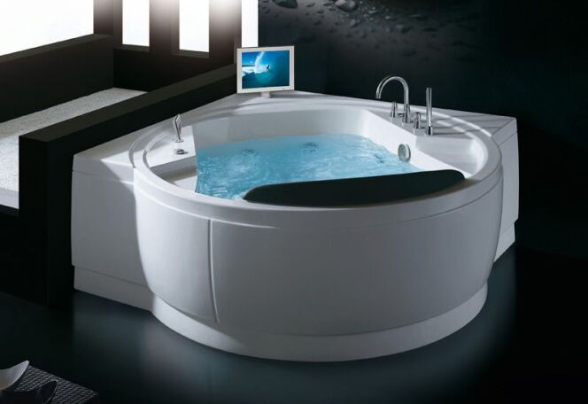 S lection de baignoires baln o installer chez soi baignoire baln o atlantis par thalassor - Installer une baignoire d angle ...