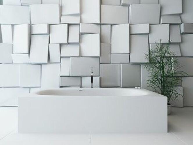 """Une baignoire rectangulaire s'intégrera à merveille dans tous les intérieurs des plus classiques aux plus modernes.<span class=""""normal italic petit"""">© XtravangT - fotolia</span>"""