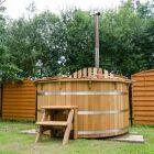 Le bain nordique en bois