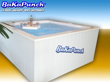 "bakapunch maxi jacuzzi 8 places hors sol sopool  <span class=""normal italic petit"">DR</span>"