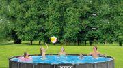 Baltik: la nouvelle gamme de piscines tubulaires d'INTEX