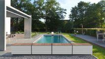 Zen'it par Fluidra : un banc de piscine esthétique et fonctionnel