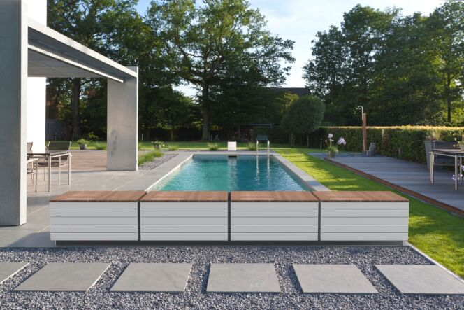 Banc de piscine Zen'it