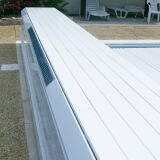 Volet hors-d'eau habillé Banc Solar Energy par Abriblue