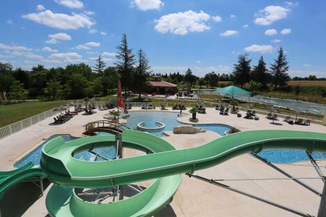 Base de loisirs lac de thoux saint cricq horaires for Piscine du lac