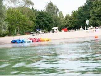 La base de loisirs Moby Dick à Rülzheim