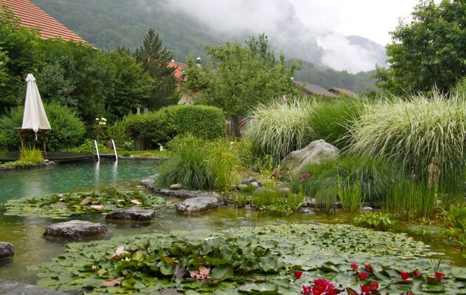 Bassin au coeur des montagne BioNova © BioNova