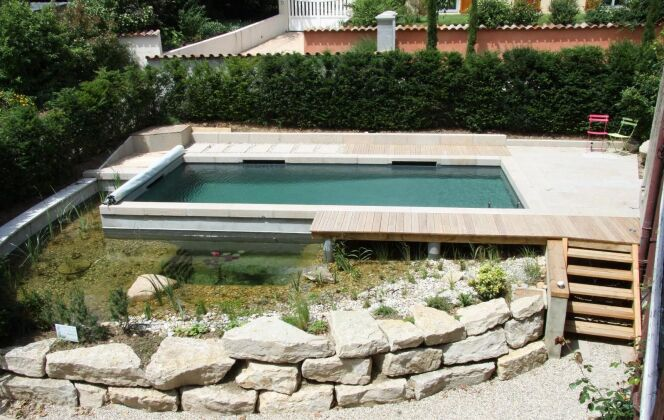 Bassin classique (procédé BioNova Pool) BioNova  © BioNova