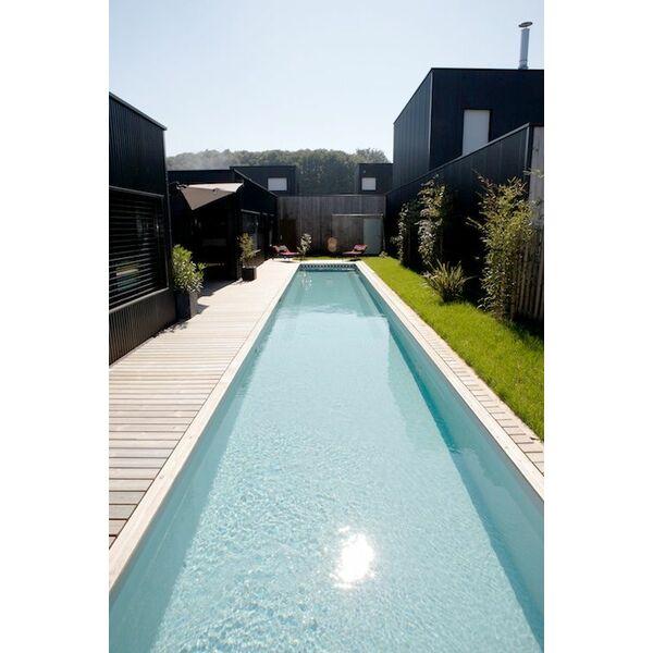 Bassin de nage de caron for Prix d une piscine caron