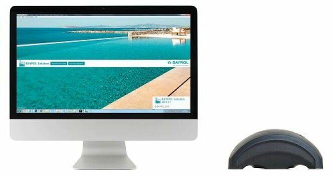 """BayroLab, le partenaire des pisciniers, pour accompagner leurs clients dans l'entretien de leur piscine<span class=""""normal italic petit"""">© Bayrol</span>"""