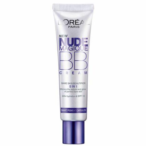 """BB Crème Nude Magique de L'Oréal Paris promet un teint parfait et une peau hydratée<span class=""""normal italic petit"""">© L'Oréal</span>"""