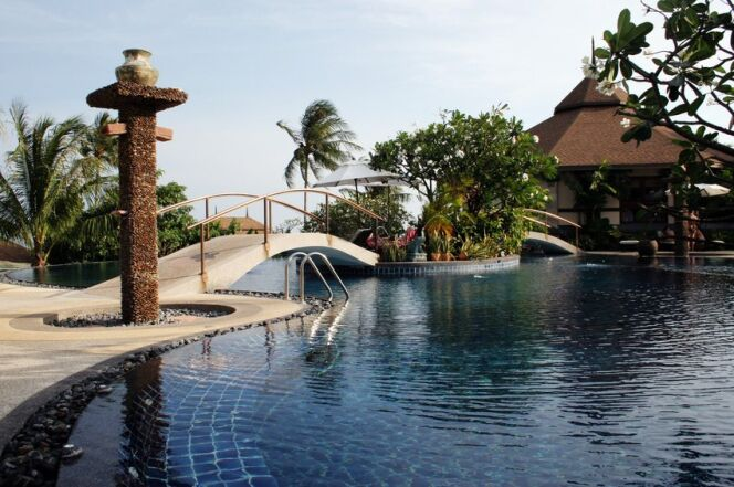 Belle piscine n°4 : une grande piscine de forme libre