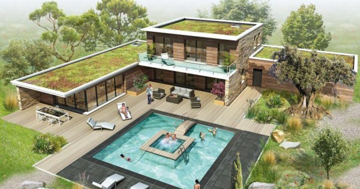 plus besoin de choisir entre une piscine et un spa avec aquilus. Black Bedroom Furniture Sets. Home Design Ideas