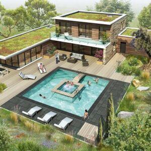 Plus besoin de choisir entre une piscine et un spa avec Aquilus