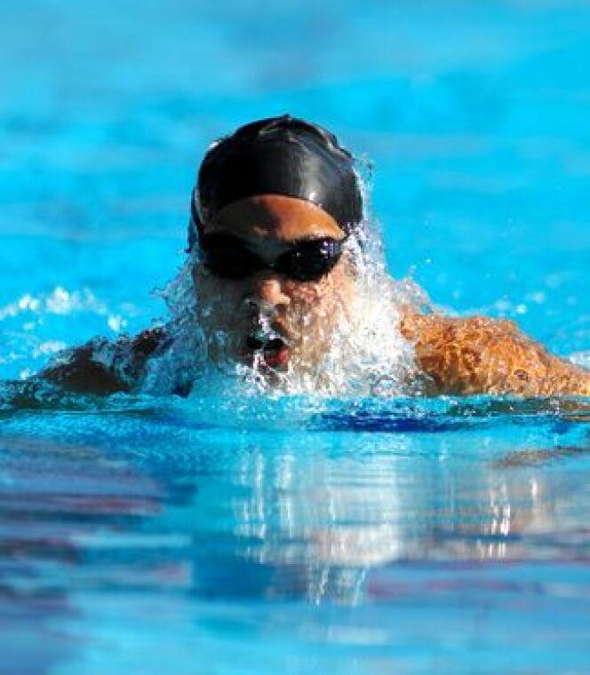 """Bien porter ses lunettes de natation<span class=""""normal italic petit"""">DR</span>"""