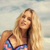 Bikini à volants coloré