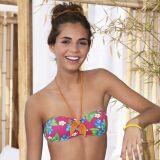 Bikini bandeau fleuri culotte à volants Tropicana - Banana Moon