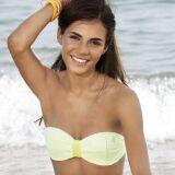 Bikini bandeau jaune citron Summerland - Banana Moon