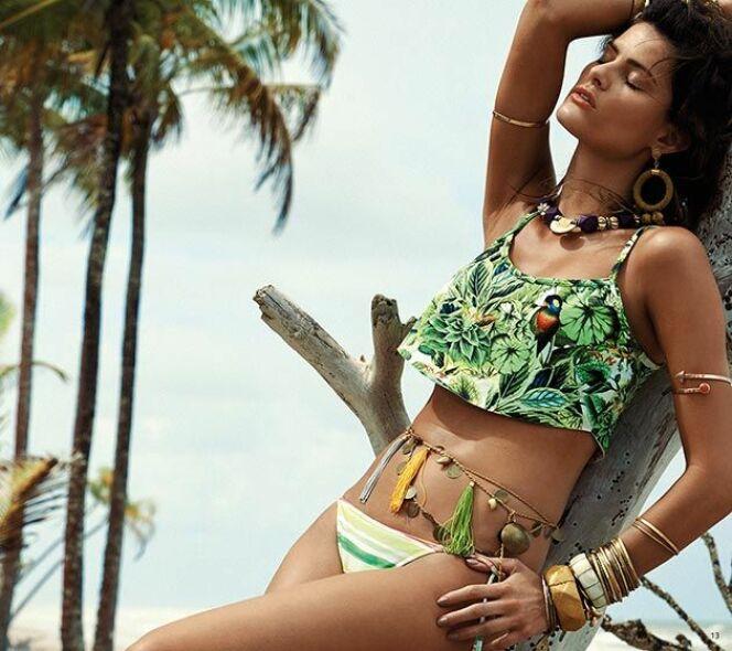 Bikini brésilien imprimé collection 2015 par Morena Rosa
