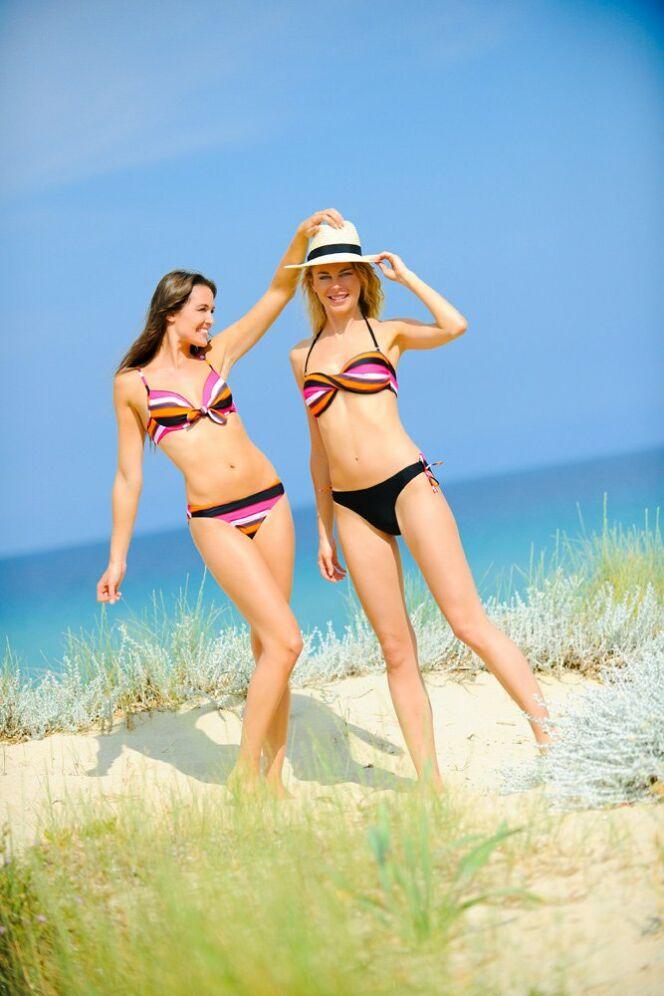 Bikini et maillot bandeau séparable Kalaïs