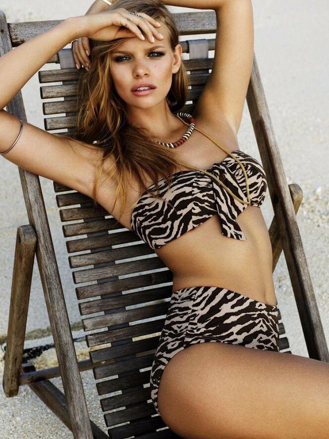 Bikini maillot bandeau Safari Seafolly