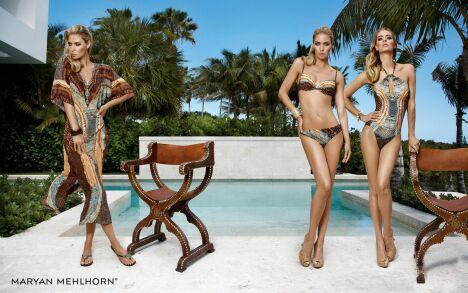 """Bikini, maillot de bain une-pièce et robe de plage imprimé animalier par Maryan Mehlhorn<span class=""""normal italic petit"""">© Maryan Mehlhorn</span>"""