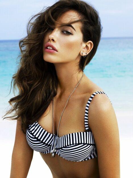 """Bikini Pin up black Seafolly<span class=""""normal italic petit"""">© Seafolly</span>"""
