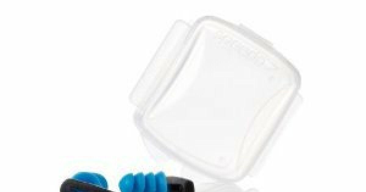 Biofuse bouchons d 39 oreille pour natation speedo for Bouchons oreilles piscine