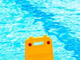 Blessure dans la piscine