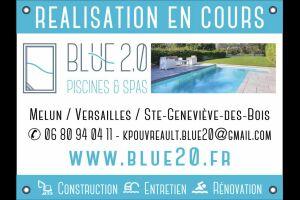Blue 2.0 Piscines et Spa à Ste Genevieve des bois