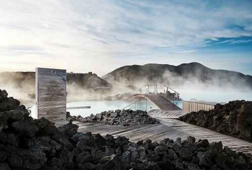 Blue Lagoon : une piscine naturellement chaude en Islande