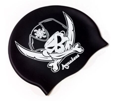 "Bonnet de bain Pirate  <span class=""normal italic petit"">© Aquadeus</span>"