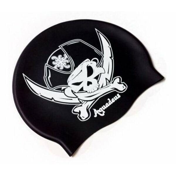 Bonnet de bain pirate aquadeus - Bonnet de piscine original ...