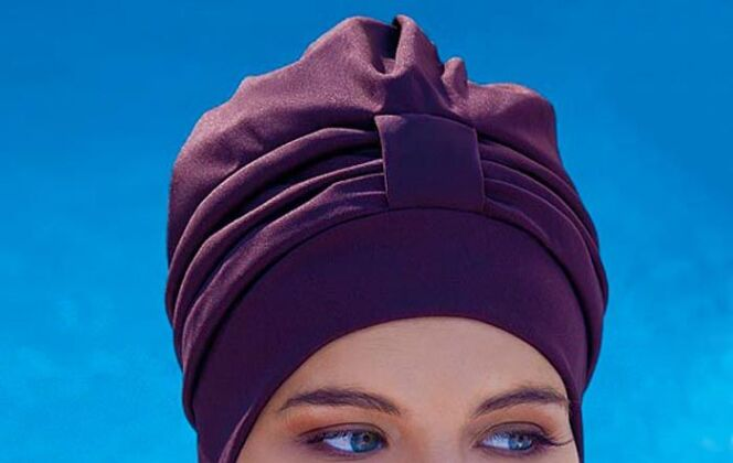 Bonnet de bain turban  © Fashy