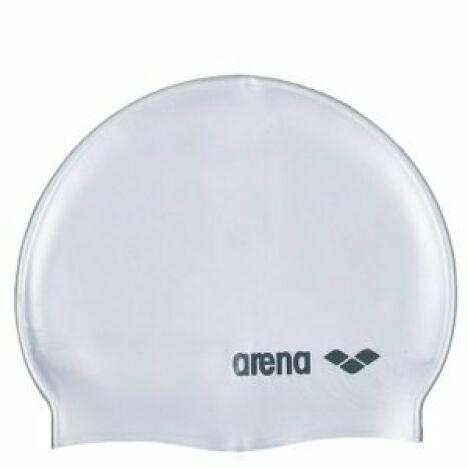 "Bonnet de natation mixte ""Classic logo silicone""<span class=""normal italic petit"">© Arena</span>"