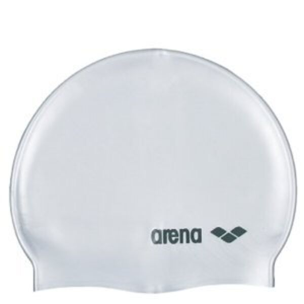bonnet de natation mixte classic logo silicone arena. Black Bedroom Furniture Sets. Home Design Ideas