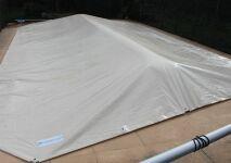 Boudin gonflable Flot'Up pour l'hivernage des piscines