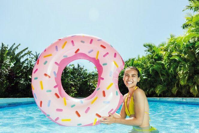 Bouée donut, pour les gourmands