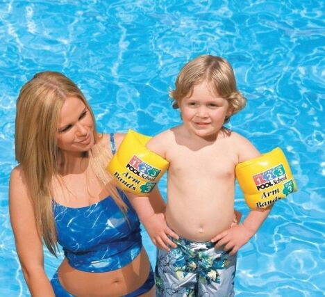 "Brassards pour enfant Pool School  <span class=""normal italic petit"">© Intex</span>"