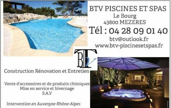 BTV Piscines et Spas DR