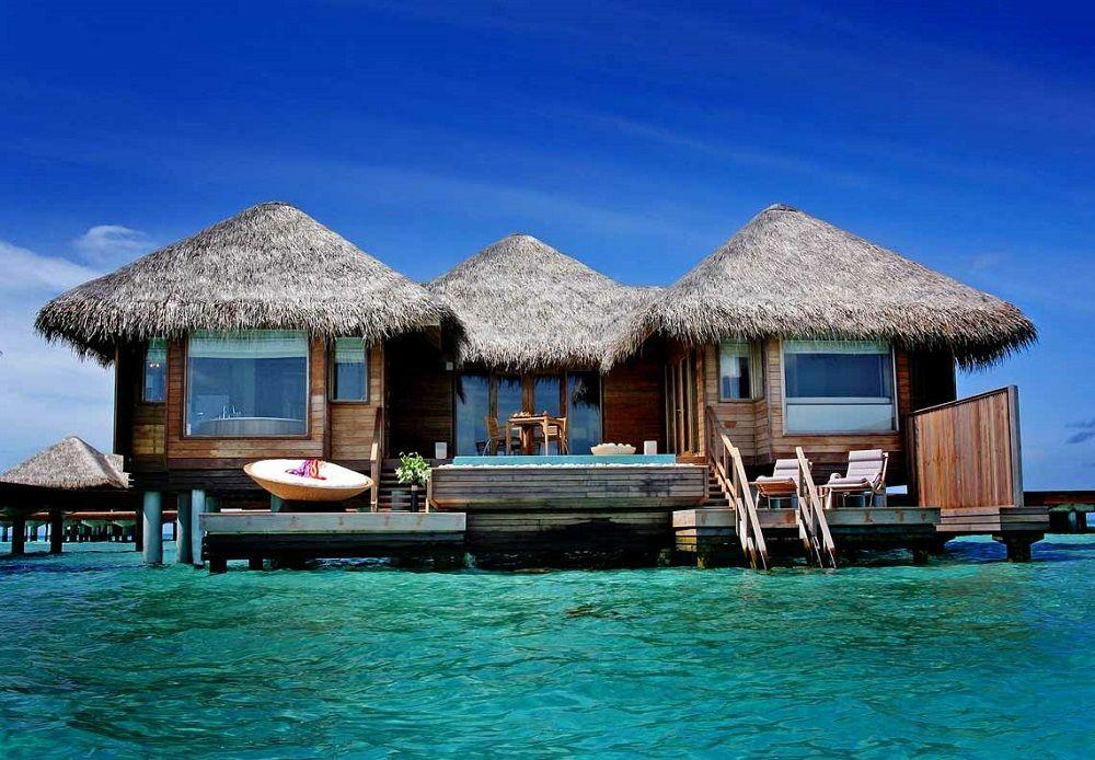 Bungalows avec piscine privative© huvafenfushimaldives.org