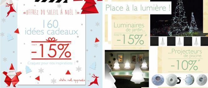 "C'est Noël chez Desjoyaux !<span class=""normal italic petit"">© Piscine Desjoyaux</span>"