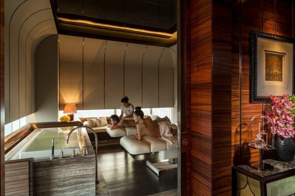 Cabine de soins au Four Seasons Hôtel à Shanghai© Four Seasons Hôtel
