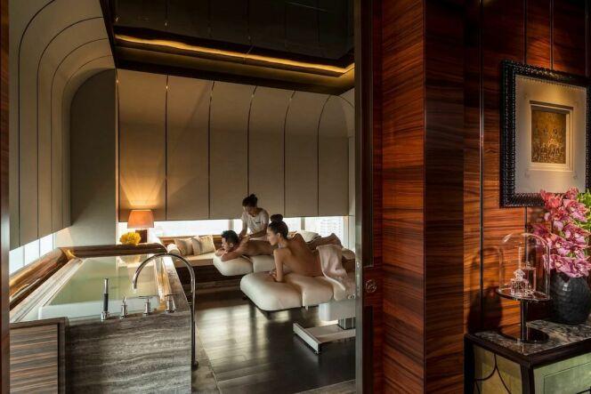 Cabine de soins au Four Seasons Hôtel à Shanghai