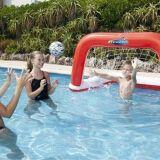 Cage de waterpolo gonflable pour piscine